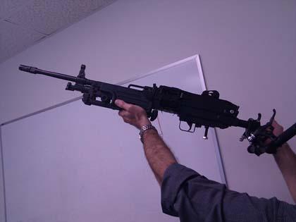 Гражданский вариант пулемета M249 SAW