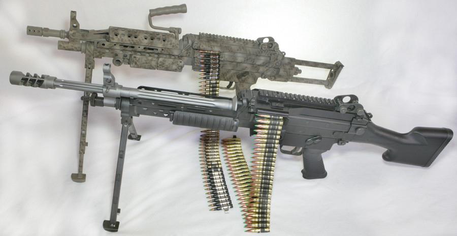 Легкий пулемет M249 SAW под патрон калибром 7.62мм