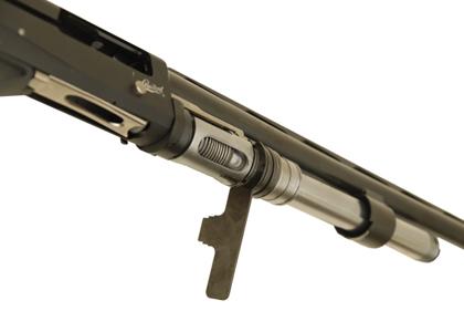 Регулировка газовой автоматики у ружья МР-155