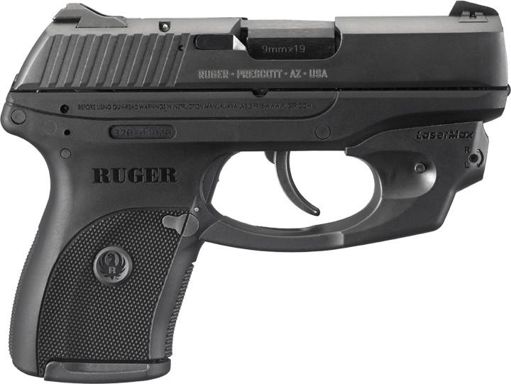 Пистолеты Ruger LCP-LM, LC9-LM с целеуказателем