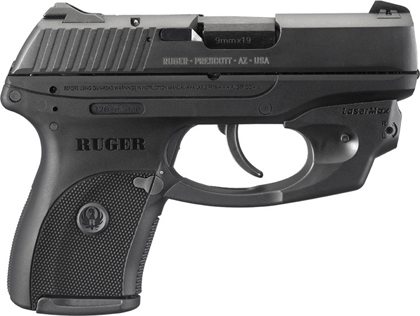 Пистолеты Ruger LCP-LM, LC9-LM с целеуказателем