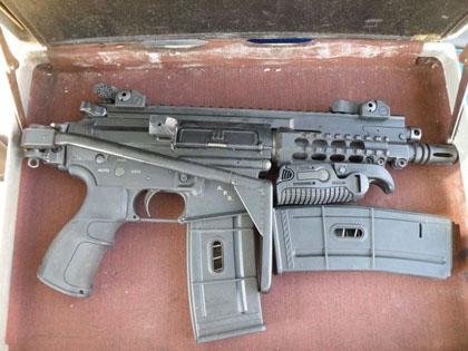 Штурмовая винтовка-пистолет Серебряная Тень Gilboa APR (Assault Pistol Rifle)