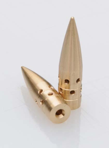7,62 х 51 мм NATO (.308 Winchester) итальянские пули с дырками