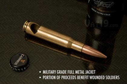 Открывалка -патрон калибром 12,7×99 мм НАТО (.50 BMG)