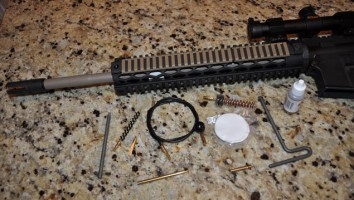 Набор для тех обслуживания винтовки AR-15