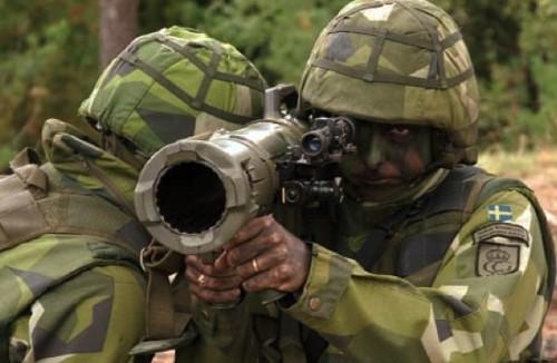 Шведский 84 мм гранатомет Карл-Густав