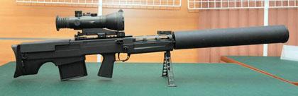 12,7мм крупнокалиберная снайперская винтовка ВКС