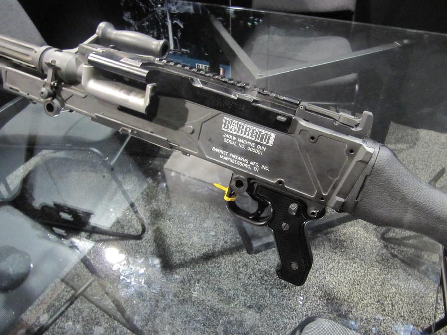 Barrett M204LW Прототип облегченная версия