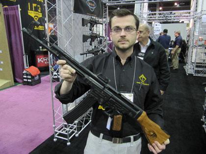 Немецкая спортивная винтовка GSG Stg44 под патрон .22 (5,6мм)