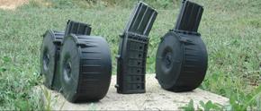Магазины повышенной емкости от компании Armatac Industries Inc. SAW-MAG, SAW-Lite, Armatac Quad