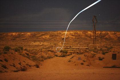 Самонаводящаяся пуля со встроенным светодиодом отмечающим ее траекторию при ночных стрельбах
