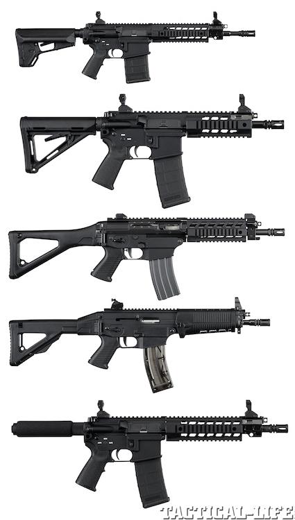 Линейка короткоствольных винтовок Sig Sauer для гражданского рынка