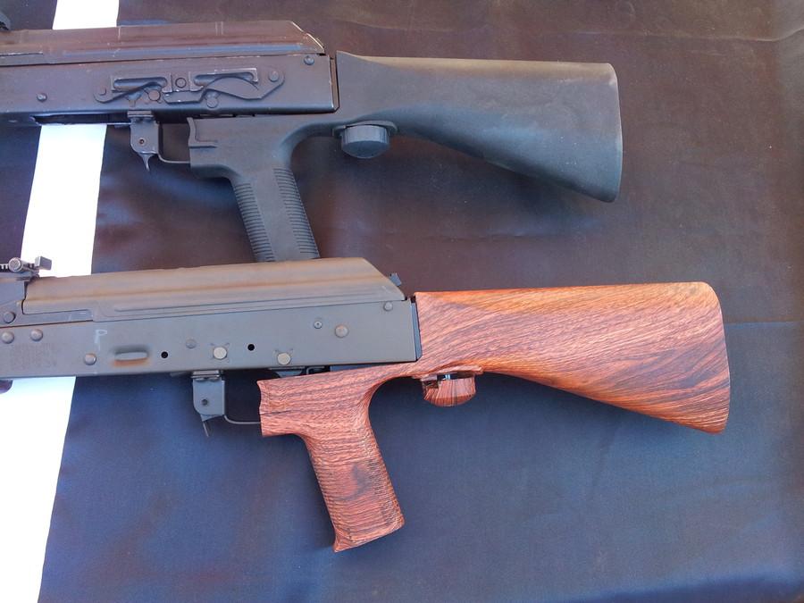 Приклад интегрированный с рукояткой ведения огня SSAK-47 XRS Slide Fire (США)