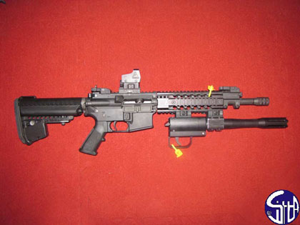Ten-X Tactical подствольный дробовик TX-12 с крепление на планке Пикатинни