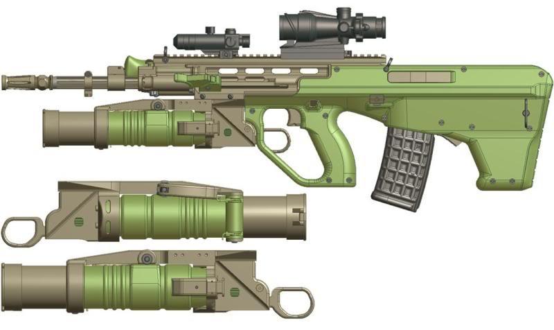 Австралийская штурмовая винтовка следующего поколения  EF-88