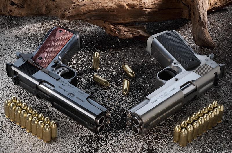 Пистолет AF2011-A1 с различным покрытием