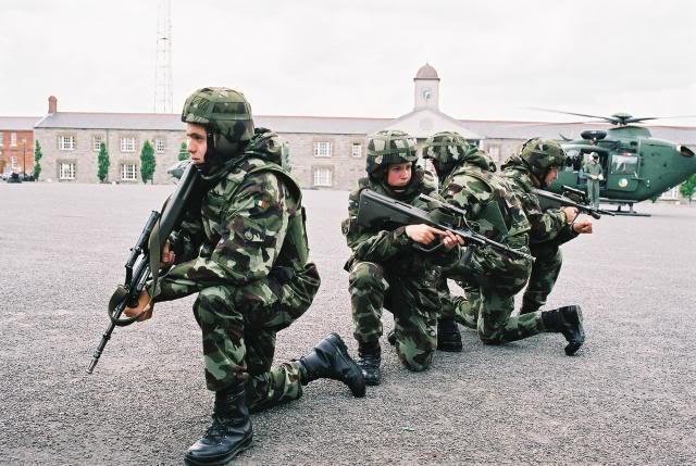 Ирландия собирается модернизировать винтовку Steyr AUG