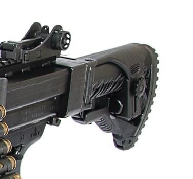 Апертурный прицел израильского пулемета NEGEV NG7