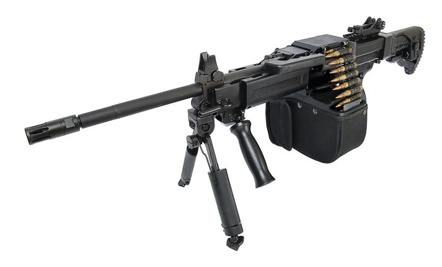 Израильский пулемет NEGEV NG7 калибром 7.62mm (Israel Weapon Industries)