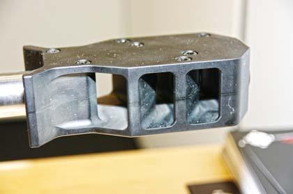 3-х камерный дульный тормоз винтовки М-2002