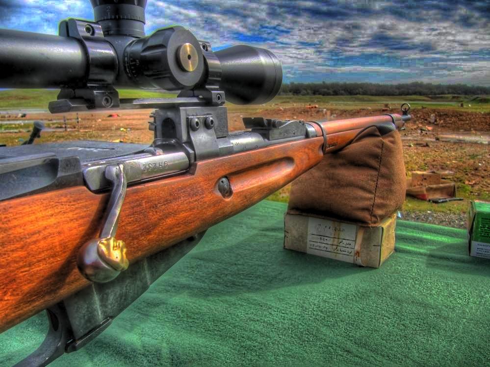 Планка для крепления оптики на винтовку Мосина