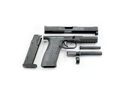 Пистолет Strike One (Стриж) в разобранном виде