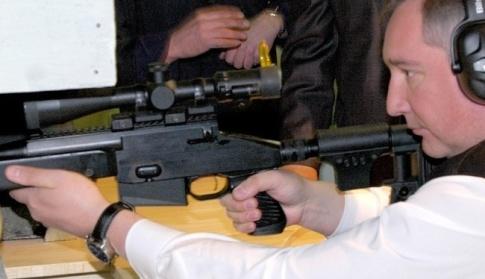 Дмитрий Рогозин - Особое направление у нас - это снайперское оружие
