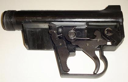 Внутреннее устройство винтовки AR-7