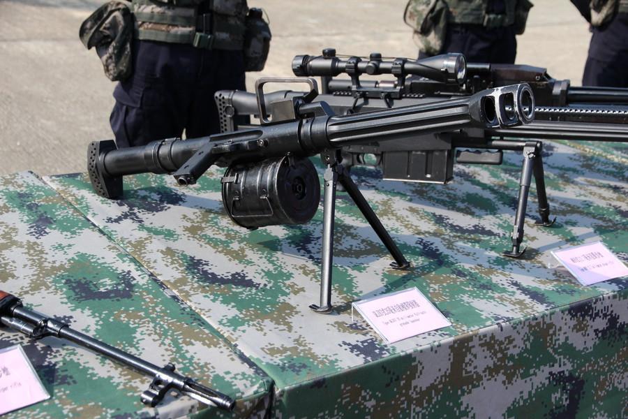 Китайский автоматический 35мм гранатомет QLZ-87