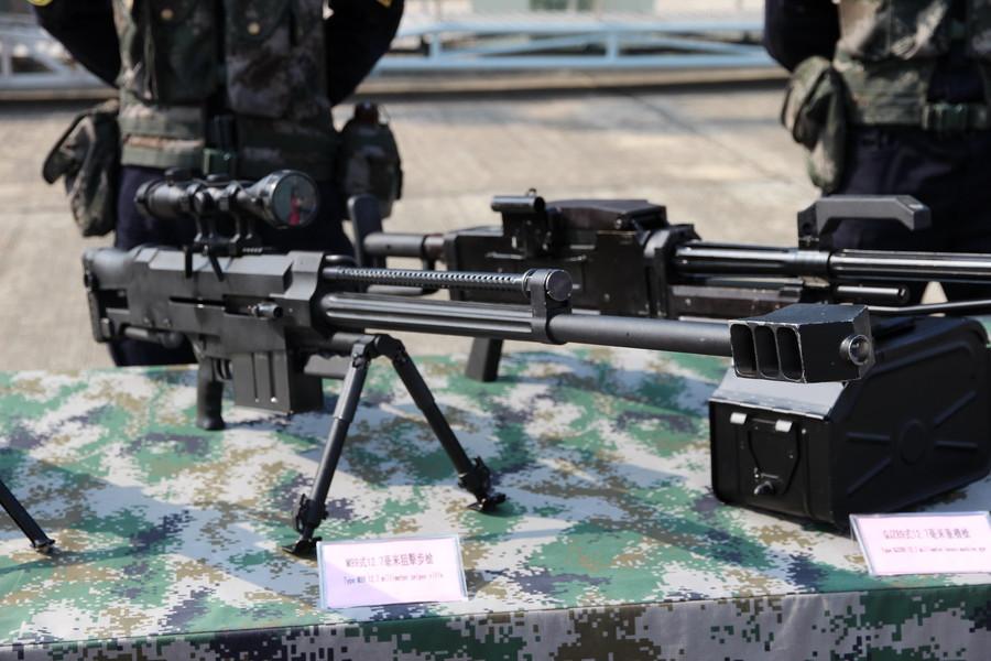 День открытых дверей ВМФ Китая. Автоматическая снайперская винтовка