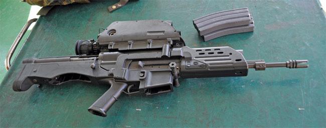 Оружие будущего Daewoo K11 ACR, Южная Корея