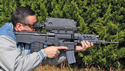 Оружие будущего Daewoo K11 Advanced Combat Rifle
