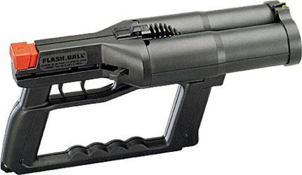 2-х ствольный пистолет Flash Ball облегченная версия