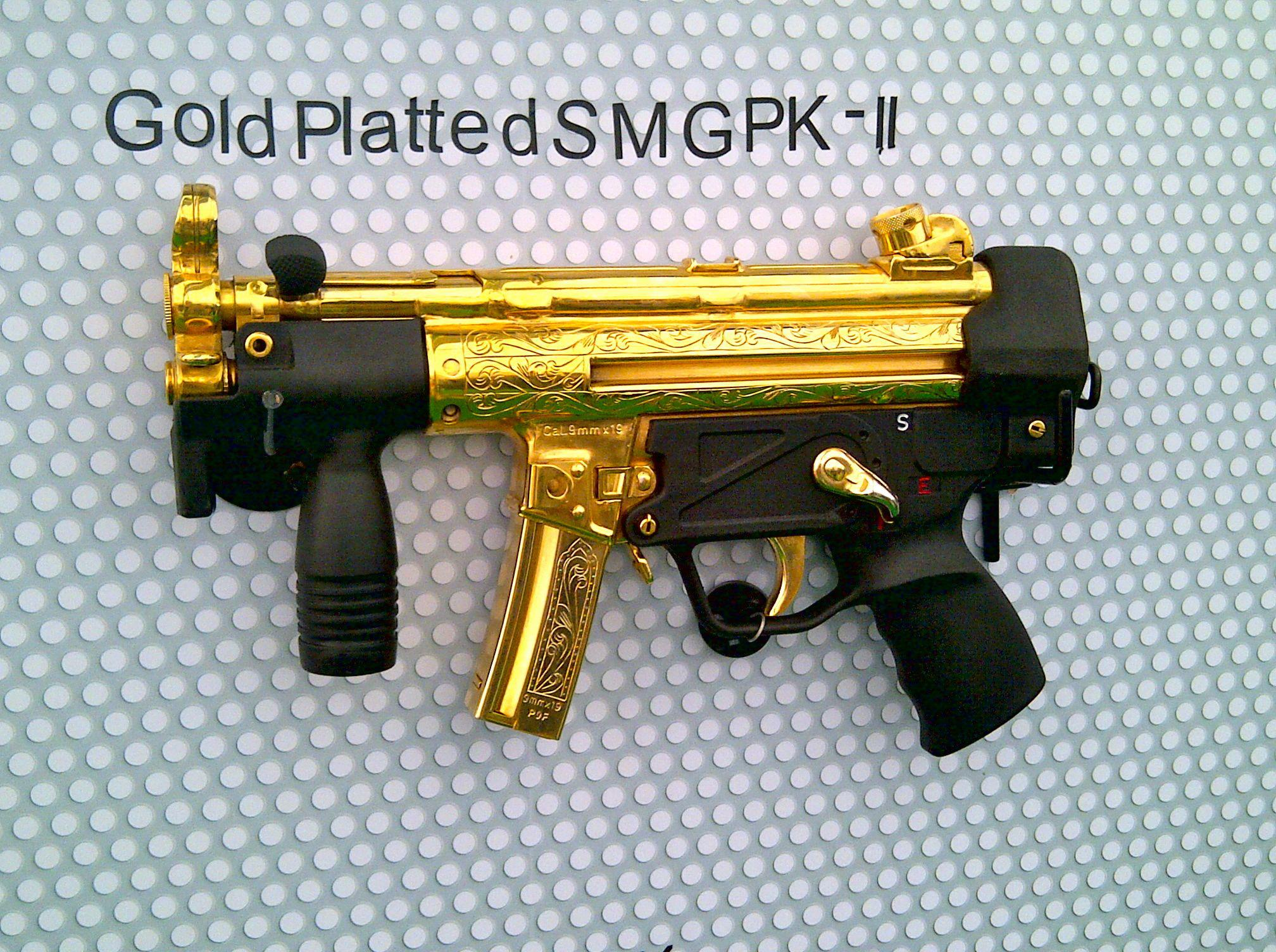 Gold Platted SMGPK-2