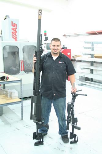 Крупнокалиберная винтовка для стрельбы на 5 километров
