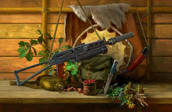 Пистолет пулемет Бизон