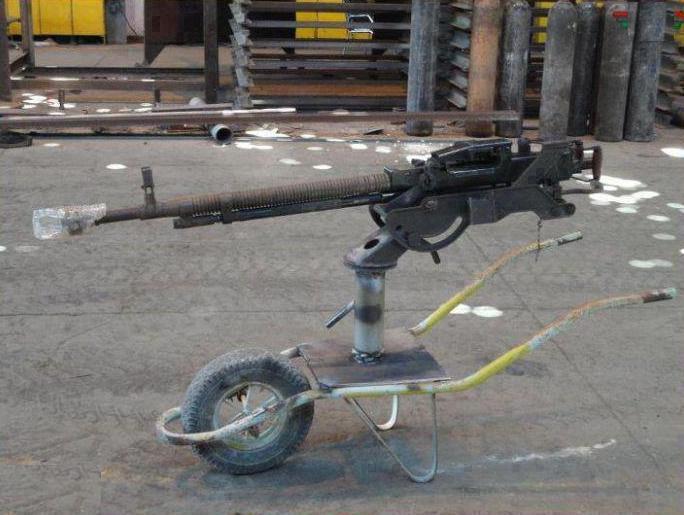 Крупно калиберный пулемет ДШК