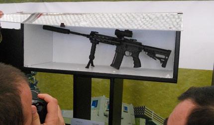 Грузинский карабин G5 разработанный на базе американской винтовки AR-15