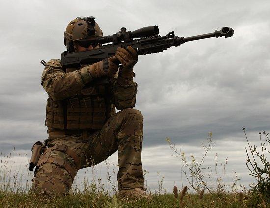 Венгерская полуавтоматическая винтовка под патрон .50 BMG (12,7×99 mm NATO) SERO GM6 Lynx