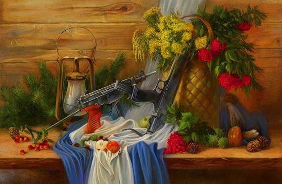 Пистолет пулемет Кипарис