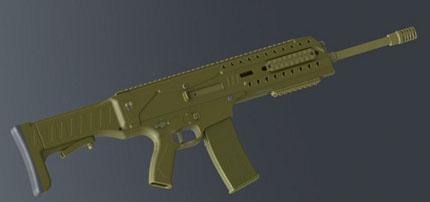 SARG XS2012 современная легкая штурмовая винтовка (США)