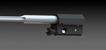 Газо-поршневая и затворная группа винтовки SARG XS2012