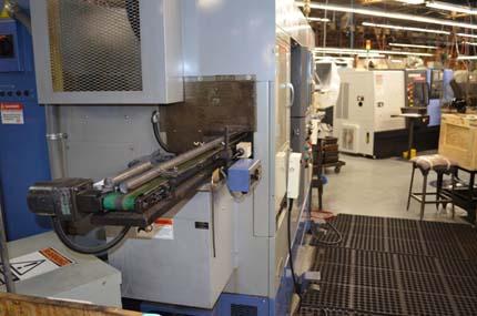 Круглая заготовка отправляется на обработку на токарном станке с ЧПУ