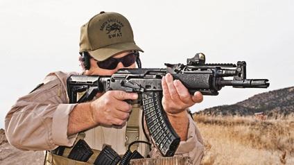 Новый румынский вариант автомата АК-47 продается на американском рынке как пистолет