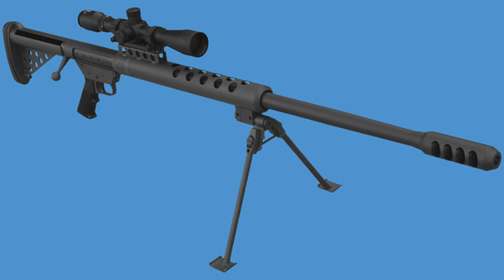 Крупнокалиберная винтовка BFG-50 компании Serbu Firearms