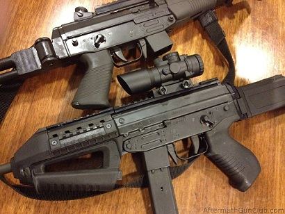 Пистолет-пулемёт FAMAE SAF под патрон 9х19 мм (Чили)