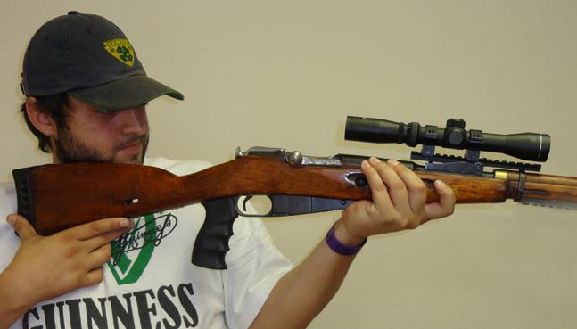 Пистолетная рукоятка для винтовки Мосина