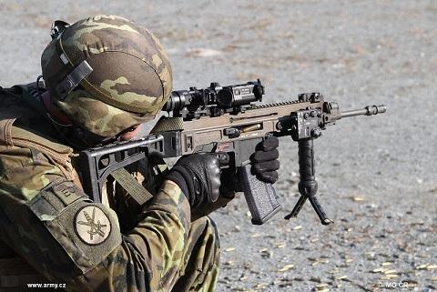 Штурмовая винтовка CZ 805 BREN, Чехия