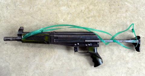 Суррогатный автомат захваченный в Афганистане