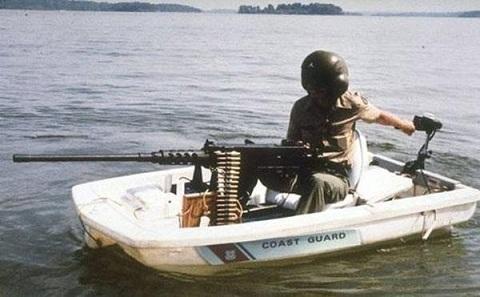 Юмор оружие. Береговая охрана